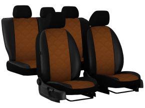 Fundas de asiento a medida Piel con impresión BMW 5 E34 (1988-1997)