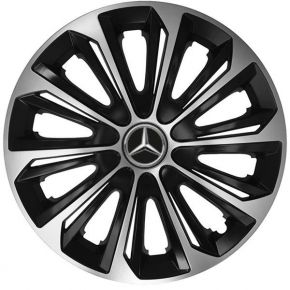 "Tapacubos para MERCEDES 14"", STRONG DUOCOLOR 4 pzs"