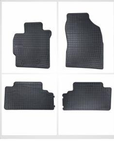 Alfombrillas de goma para TOYOTA COROLLA X E14, E15, 542766 4 piezas 2002-2007