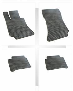 Alfombrillas de goma para MERCEDES CLS 4 piezas 2011-