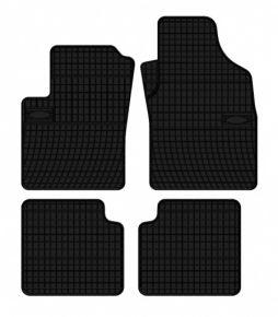 Alfombrillas de goma para FIAT PANDA 4 piezas 2003-2012