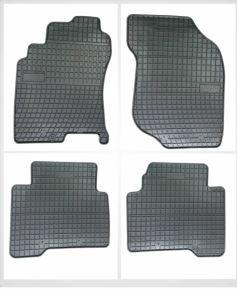 Alfombrillas de goma para NISSAN X-TRAIL 4 piezas 2001-2008