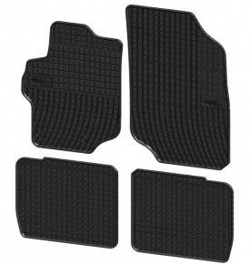 Alfombrillas de goma para CITROEN C-ELYSEE 4 piezas 2012-