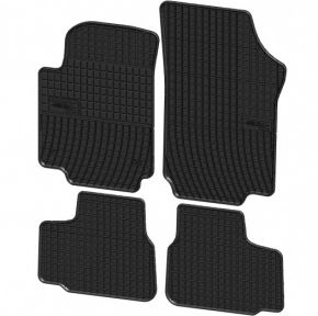 Alfombrillas de goma para VOLKSWAGEN VW UP ! 4 piezas 2011-