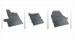 Alfombrillas de goma para FIAT DUCATO 3 piezas 2014-