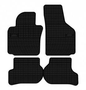 Alfombrillas de goma para SEAT LEON 4 piezas 2005-2012