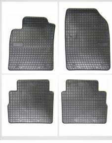 Alfombrillas de goma para OPEL VECTRA 4 piezas 2008-