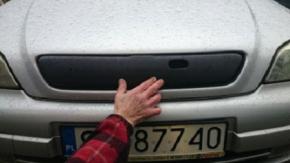 Cubre parrilla de radiador de invierno para ASTRA II G/CLASSIC