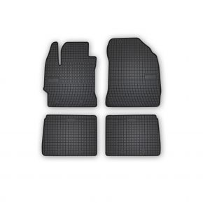 Alfombrillas de goma para TOYOTA COROLLA XI E160 4 piezas 2013-2019