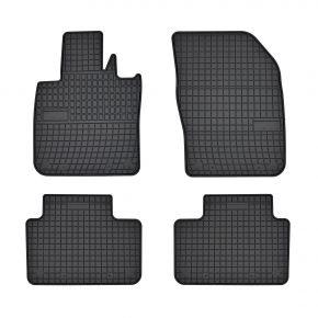 Alfombrillas de goma para VOLVO V60 II 4 piezas 2018-up