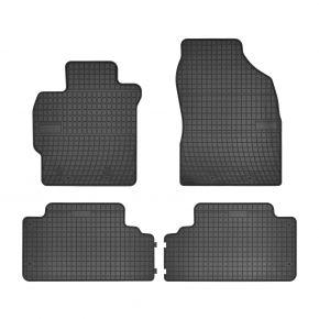 Alfombrillas de goma para TOYOTA COROLLA X E14, E15 4 piezas 2006-2013