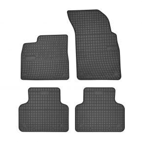 Alfombrillas de goma para AUDI Q7 II 4 piezas 2015-