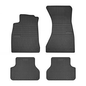 Alfombrillas de goma para AUDI A4 (B9) 4 piezas 2015-