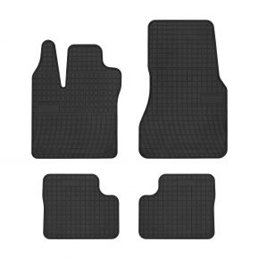 Alfombrillas de goma para SMART FORFOUR II 4 piezas 2014-up