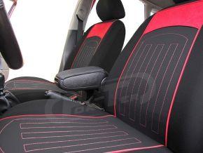 Fundas de asiento a medida Rombo (acolchado) FIAT QUBO