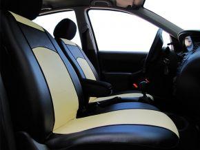 Fundas de asiento a medida de Piel FIAT PANDA