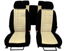 Fundas de asiento a medida de Piel Stype FIAT QUBO