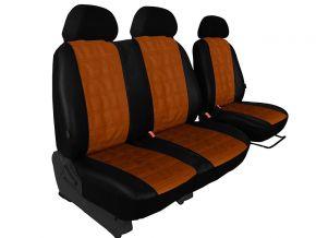 Fundas de asiento a medida Piel con impresión CITROEN BERLINGO 2+1 (1996-2015)