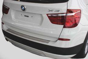 Cubre parachoques de acero inoxidable para BMW X3 F25, -2011