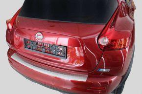 Cubre parachoques de acero inoxidable para Nissan Juke, -2010