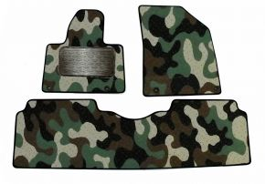Army car mats Citroen C 5   2008-up  3 ks