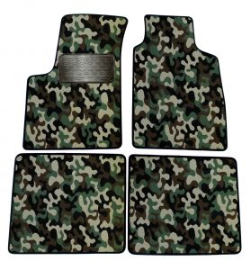 Army car mats Fiat Panda 2003-2012 4ks