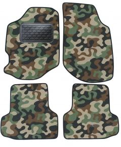 Army car mats Ford Escort 1996-2000-4ks