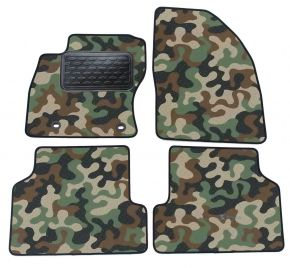 Army car mats Ford Focus II 2005-2010  4ks