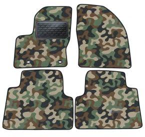 Army car mats Ford Focus C-Max I   2003-2010 4ks