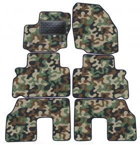Army car mats Ford S Max 2016-up 4 ks