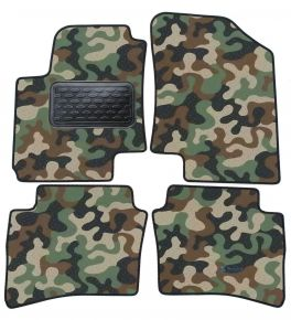 Army car mats Hyundai  i20 2008-2012