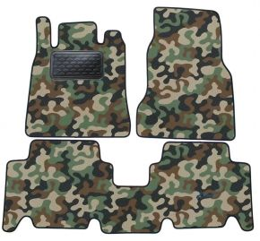 Army car mats Mercedes A Class W168 1997-2004 4ks