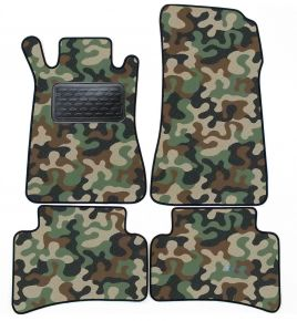 Army car mats Mercedes W 203 C Class 2000-2007 4ks