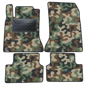 Army car mats Mercedes A W176  2013-2018 4ks