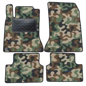 Army car mats Mercedes A W176 2013-2018 4ks