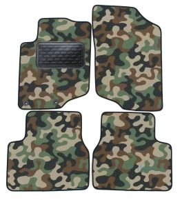Army car mats Peugeot 207 2006-up /208  2012-up