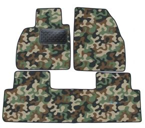 Army car mats Renault Scenic III  2009- 2016