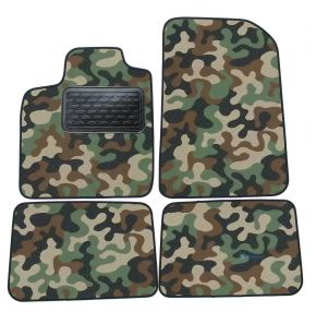 Army car mats Renault Twingo II  2007-up  4ks