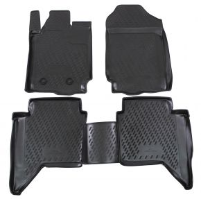 Alfombrillas de goma FORD FORD Ranger  4 doors  2012-up 4 piezas