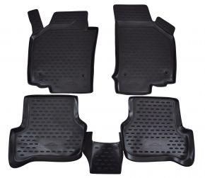 Alfombrillas de goma SEAT Leon 2006-2012  4 piezas