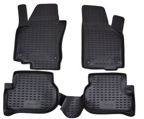 Alfombrillas de goma VW Golf Plus 2004-2014  4 piezas