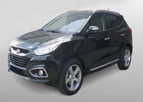 Barras de paso lateral para Hyundai Ix35 2010-2015