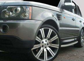 Barras de paso lateral para Land Rover Range Rover Sport OE Style 2006-2012