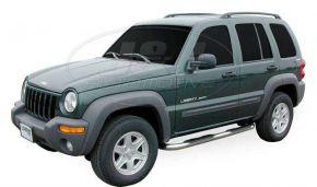 Marcos laterales de acero inoxidable para Jeep Cherokee