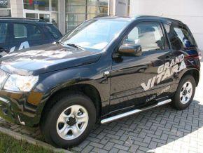 Marcos laterales de acero inoxidable para Suzuki Grand Vitara 3D