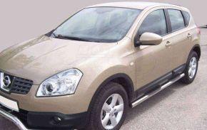 Marcos laterales de acero inoxidable para Nissan Qashqai