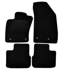 Alfombrillas de velours para Fiat Tipo (hatchback,wagon), 2015-