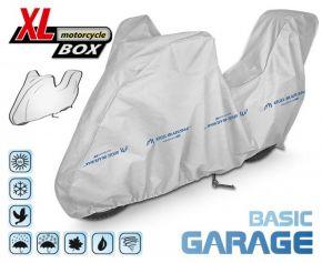 Funda para moto BASIC GARAGE 240-265 cm + maletero