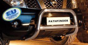 Bullbar delanteros Steeler para Nissan Pathfinder 2005-2010 Modelo S