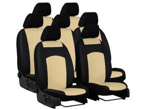 Fundas de asiento a medida de Piel CITROEN C8 7x1 (2002-2014)